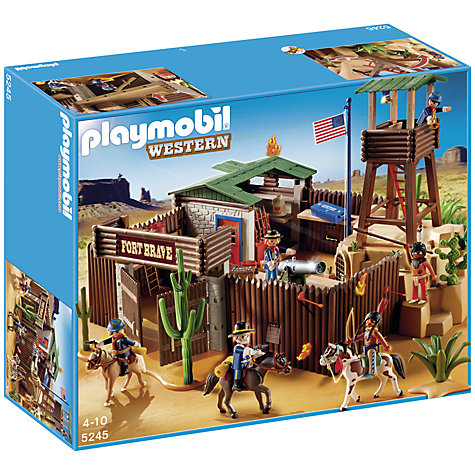 Buy Playmobil Western Fort Online at johnlewis.com