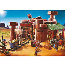 Buy Playmobil Western Goldmine Online at johnlewis.com