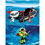Playmobil Deep Sea Diver and Dinghy
