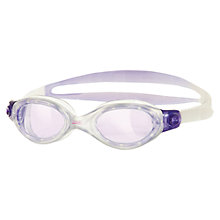 Buy Zoggs Athena Women's Swimming Goggles, Lilac/Clear Online at johnlewis.com
