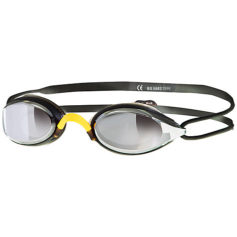 Buy Zoggs Fusion Air Mirror Swimming Goggles, Black Online at johnlewis.com