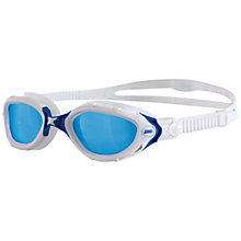 Buy Zoggs Predator Flex Swimming Goggles, Blue/White Online at johnlewis.com