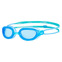 Buy Zoggs Predator Junior Clear Goggles, Blue Online at johnlewis.com