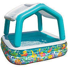 Buy Intex Sunshade Paddling Pool Online at johnlewis.com