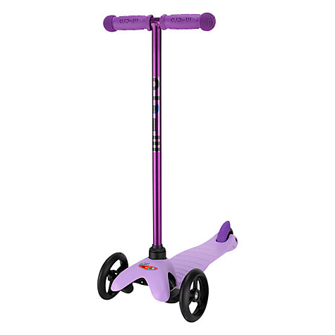 Buy Limited Edition Mini Micro T-Bar Scooter, Candy Lilac Online at johnlewis.com