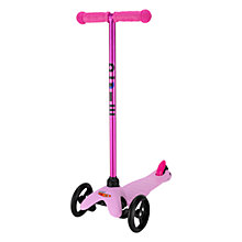 Buy Micro Scooters Limited Edition Mini Micro T-Bar Scooter, Candy Pink Online at johnlewis.com