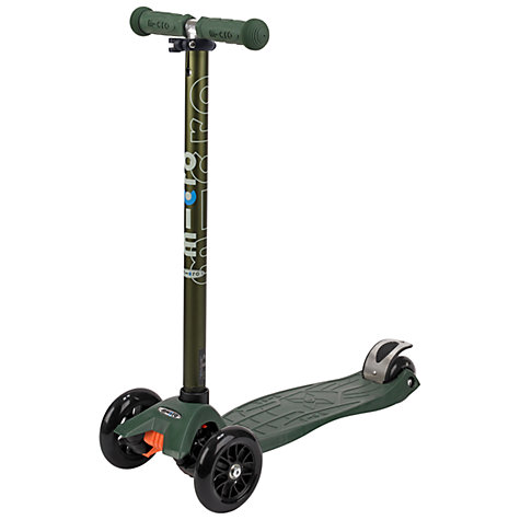 Buy Micro Scooters Limited Edition Maxi Micro Scooter, Camo Green Online at johnlewis.com