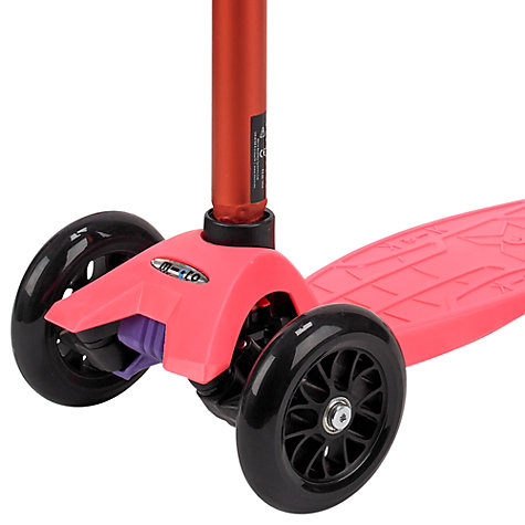 Buy Micro Scooters Special Edition Maxi Micro Scooter, Coral Online at johnlewis.com