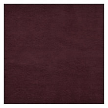 Buy John Lewis Wexford Plain Fabric, Cassis Online at johnlewis.com