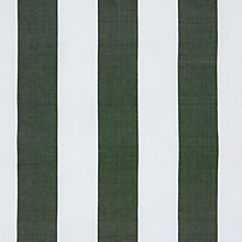 Buy John Lewis Wide Stripe Deckchair Fabric, Green Online at johnlewis.com