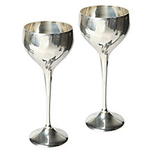 Buy Culinary Concepts Contour Wine Goblets Online at johnlewis.com