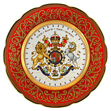 Buy The Royal Collection Coronation Dinner Plate Online at johnlewis.com