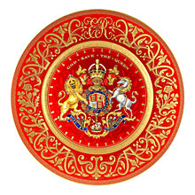 Buy The Royal Collection Limited Edition Coronation Charger Plate Online at johnlewis.com