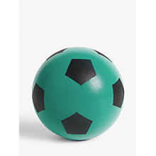 Buy John Lewis Single Foam Football, 23cm, Assorted Online at johnlewis.com