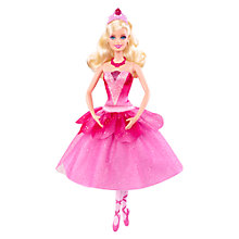 Buy Barbie Ballerina Doll Online at johnlewis.com