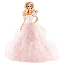 Buy Barbie Birthday Wishes Doll Online at johnlewis.com