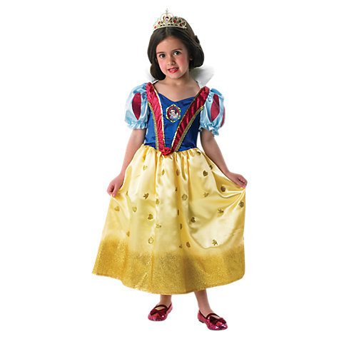 Buy Disney Princess Glitter Snow White Dressing-Up Costume Online at johnlewis.com