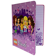 Buy LEGO Friends Journal, Assorted Online at johnlewis.com