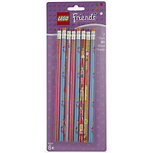 Buy LEGO Friends Pencils, Pack of 8, Assorted Online at johnlewis.com