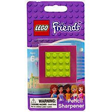 Buy LEGO Friends Pencil Sharpener Online at johnlewis.com