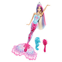 Buy Barbie Mermaid Doll Online at johnlewis.com