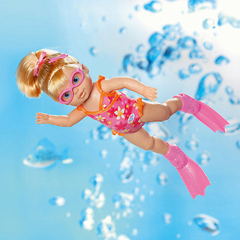 Buy Baby Born I Can Swim Doll Online at johnlewis.com