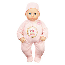 Buy My First Baby Annabell Doll, 2013 Edition Online at johnlewis.com