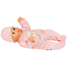 Buy My First Baby Annabell Moves Doll Online at johnlewis.com