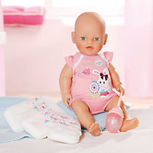 Buy My Little Baby Born Nappy Time Online at johnlewis.com
