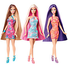 Buy Barbie Fashion Hair-tastic Doll, Assorted Online at johnlewis.com