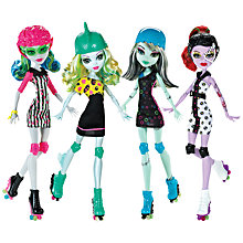 Buy Monster High Roller Maze Doll, Assorted Online at johnlewis.com