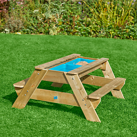 Buy TP286 Deluxe Picnic Table Sandpit Online at johnlewis.com