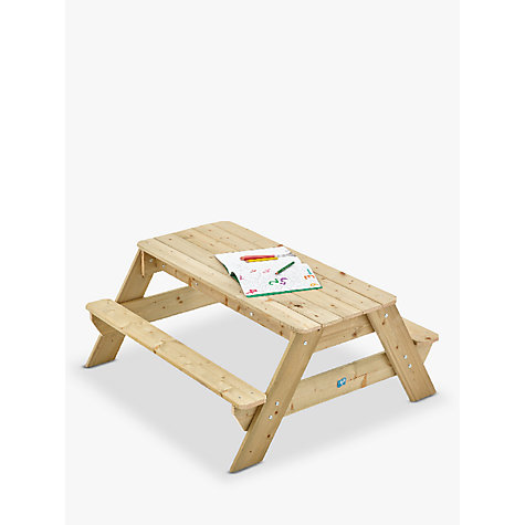 Buy TP Toys TP286 Deluxe Picnic Table Sandpit Online at johnlewis.com