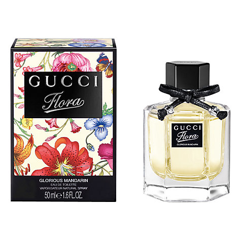 Buy Gucci Flora Glorious Mandarin Eau de Toilette, 50ml Online at johnlewis.com