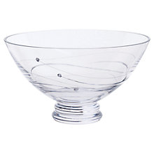 Buy Dartington Crystal Glitz Bowl, Dia.22.5cm Online at johnlewis.com