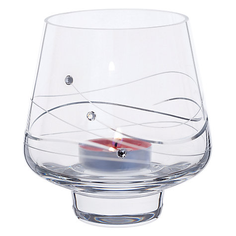 Buy Dartington Crystal Glitz Tealight Holder Online at johnlewis.com