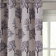 Buy John Lewis Oakley Trees Eyelet Lined Curtains Online at johnlewis.com