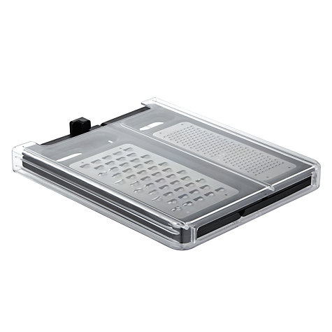 Buy Joseph Joseph Fold Flat Grater, Black Online at johnlewis.com
