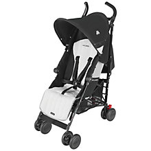 Buy Maclaren Quest Buggy, Black/Silver Online at johnlewis.com