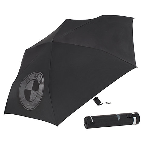 Buy Maclaren BMW Umbrella and Storage Case, Black Online at johnlewis.com