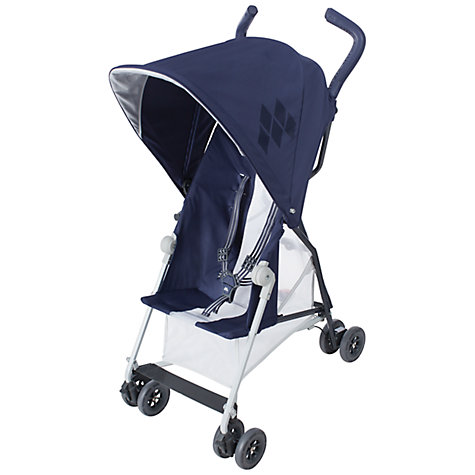 Buy Maclaren Mark II Buggy, Midnight Navy Online at johnlewis.com