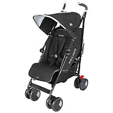 Buy Maclaren Techno XT Buggy, Black Online at johnlewis.com