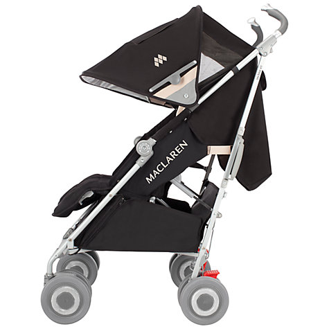Buy Maclaren Techno XLR Pushchair, Black/Champagne Online at johnlewis.com