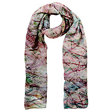 Buy Front Row Society Blaze Print Scarf Online at johnlewis.com