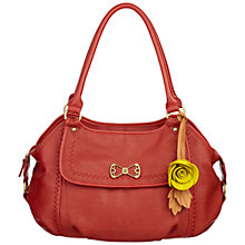 Buy Nica Ashley Bow Detail Medium Shoulder Handbag, Salmon Online at johnlewis.com