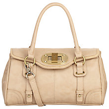 Buy Fiorelli Desire Flapover Medium Across Body Bag, Stone Online at johnlewis.com