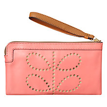 Buy Orla Kiely Flat Zip Purse Online at johnlewis.com