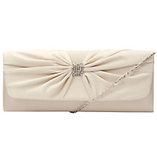 Buy John Lewis Jenny Satin Silk Twist Clutch Bag Online at johnlewis.com