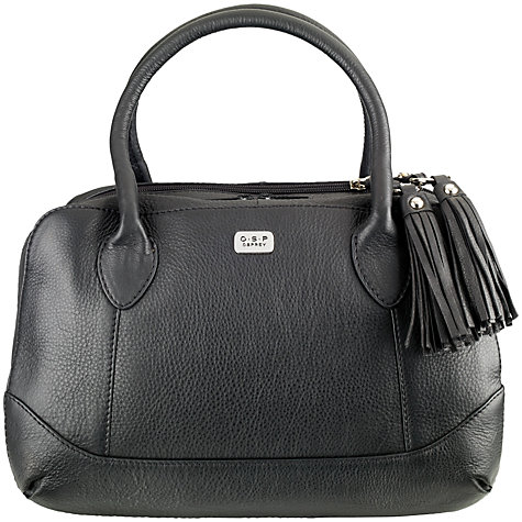 Buy O.S.P OSPREY Andorra Leather Bowling Bag Online at johnlewis.com