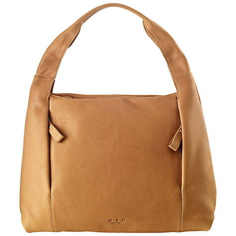 Buy O.S.P OSPREY Essen Nappa Grab Handbag, Tan Online at johnlewis.com